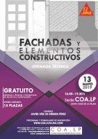 JORNADA TÉCNICA: Fachada y elementos constructivos @ COLEGIO OFICIAL DE ARQUITECTOS DE LA PALMA